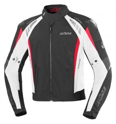 Büse B.Racing Pro textilkabát fekete fehér - Buse HU c06d85126e