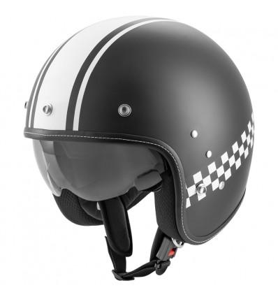 Rocc Classic Pro TT nyitott sisak fekete/fehér