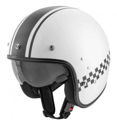Rocc Classic Pro TT nyitott sisak fehér/fekete