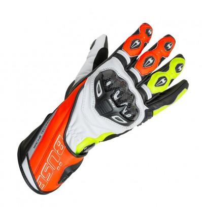 Büse Donington Pro sportkesztyű neonpiros/neonsárga