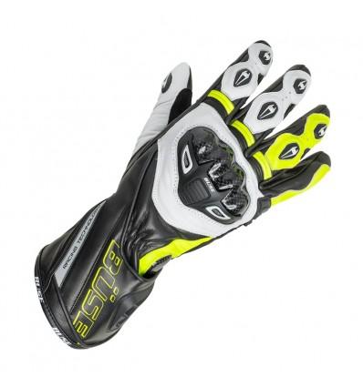 Büse Donington Pro sportkesztyű fekete/neonsárga