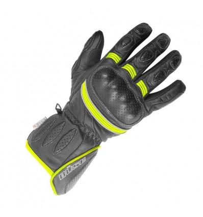 Büse Pit Lane sportkesztyű fekete/neonsárga