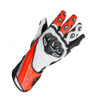 Büse Donington Pro sportkesztyű neonpiros