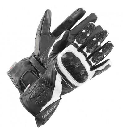 Büse Pit Lane sportkesztyű fekete/fehér