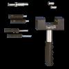 Ketten Trenn/Nietwerkzeug 520-532