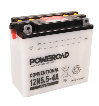 Poweroad 12N5,5-4A 12V/5,5A VE10