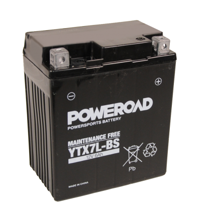 Poweroad  YTX7L-BS 12V/6A (VE8)