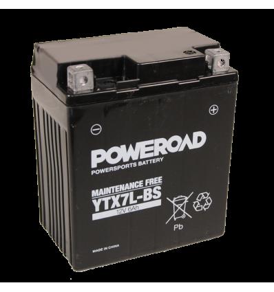 Poweroad YTX7L-BS 12V/6A (VE8)