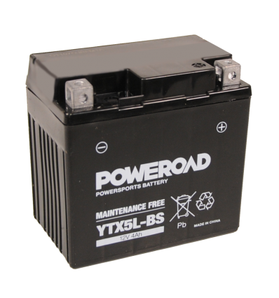 Poweroad YTX5L-BS 12V/4A (VE10)