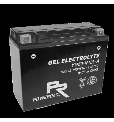 Poweroad Gel YG50-N-18L-A/12V-20AH VE1