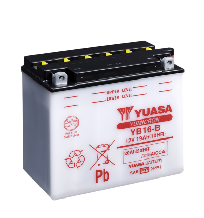 Yuasa YB16-B 12V/19A (VE05)