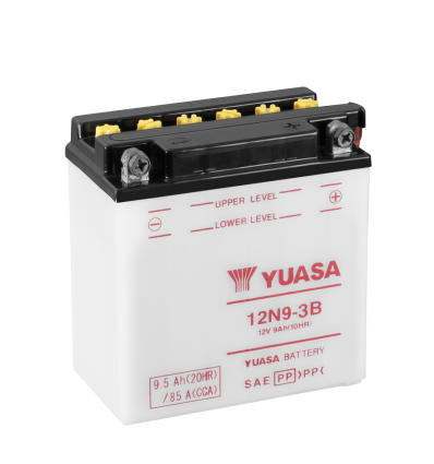 Yuasa 12N9-3B 12V/9A (VE5)