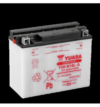 Yuasa Y50-N18L-A 12V/21A (VE5)