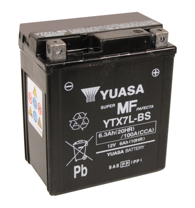 Yuasa YTX7L-BS 12V/6A (VE06)