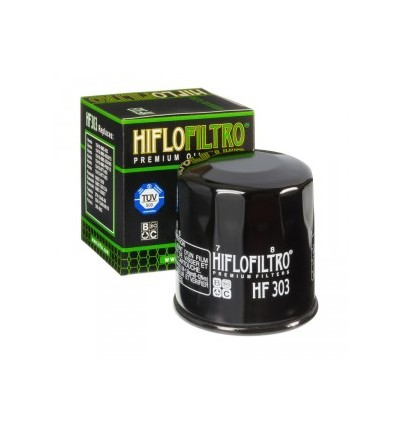 Hiflo olajszűrő HF303 Honda/Kawa/Yamaha