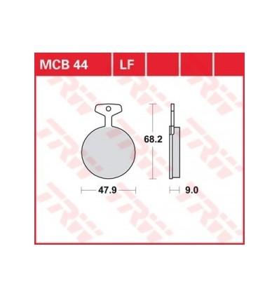 Fékbetét Lucas MCB044