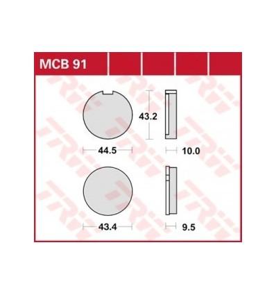 Fékbetét Lucas MCB091