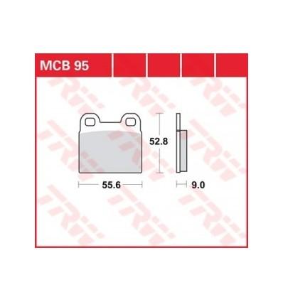 Fékbetét Lucas MCB095