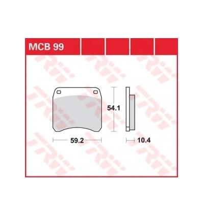 Fékbetét Lucas MCB099