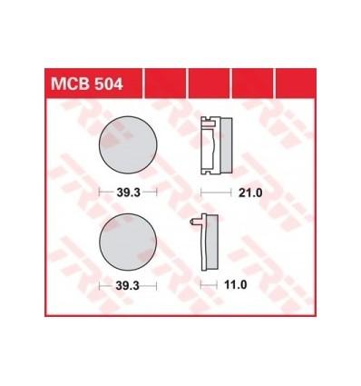 Fékbetét Lucas MCB504