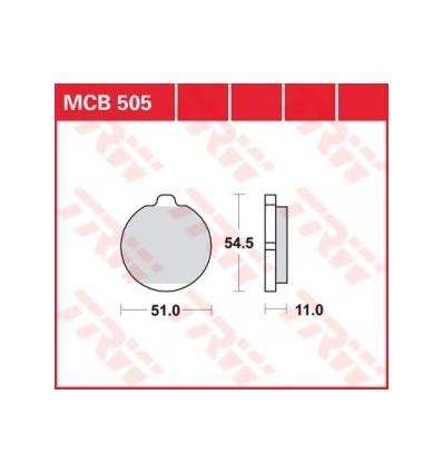 Fékbetét Lucas MCB505