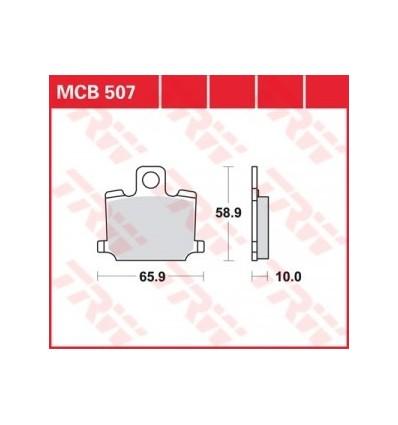 Fékbetét Lucas MCB507