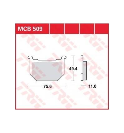 Fékbetét Lucas MCB509