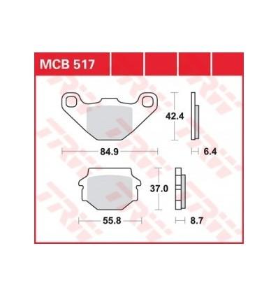 Fékbetét Lucas MCB517